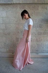 Largy pant - Pantalon fluide rose - Adama Paris