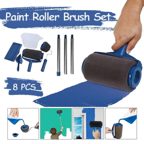 Multifunctional Paint Roller Brush Tools Set (8 pcs.)