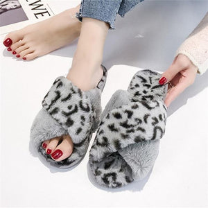 THE LEOPARD SLIPPERS