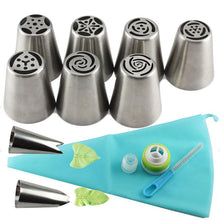 Load image into Gallery viewer, Baking Pipe Tip Set - 13 Pcs