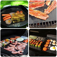 Load image into Gallery viewer, THE HIGHEST QUALITY COPPER BBQ GRILL MATS 3PCs