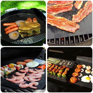 THE HIGHEST QUALITY COPPER BBQ GRILL MATS 3PCs