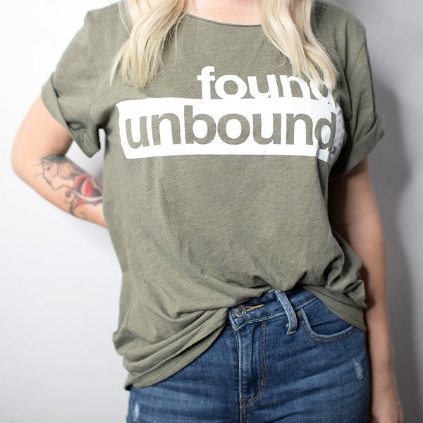 Found Unbound Tee - Scoop Neck