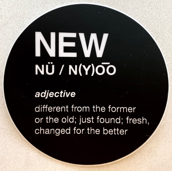 New Definition Sticker