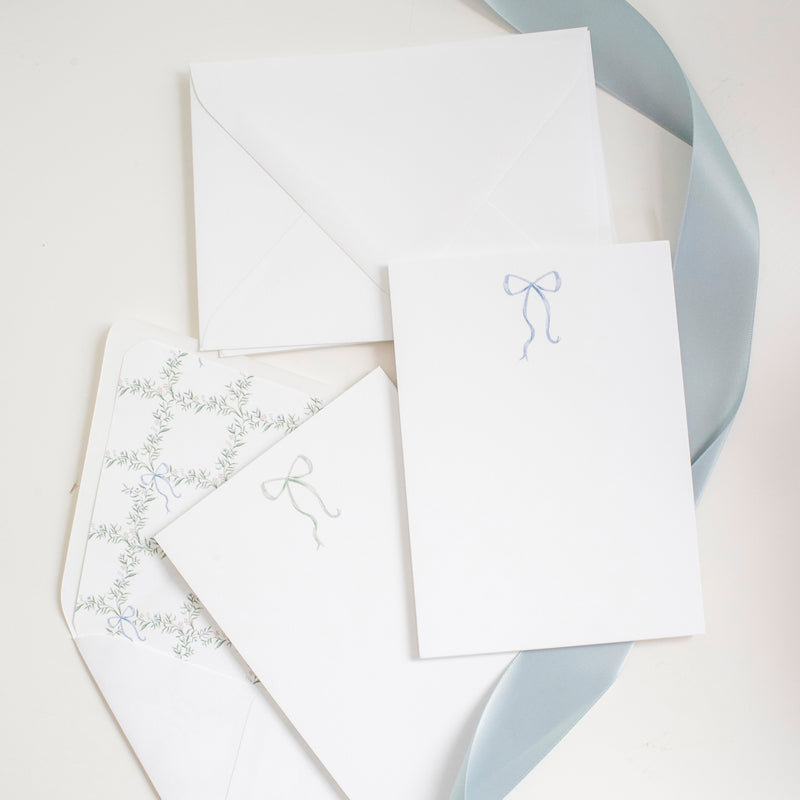 Bow Notecard Set