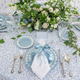 Bows & Blue Dinner Napkin