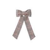 Elle Bow - Muted Plaid
