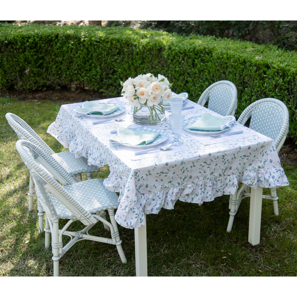 Rose Trellis Mini Skirted Tablecloth
