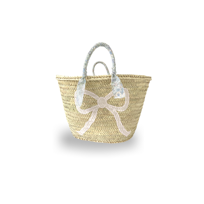 Bow Basket - Pink