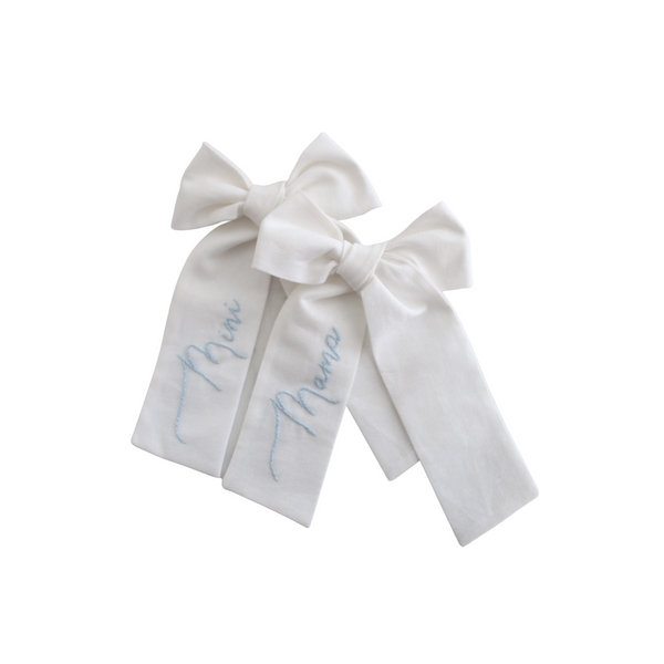 Mama and Mini Bow Set