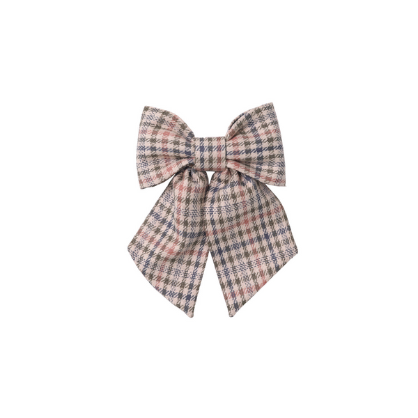 Molly Bow - Muted Plaid