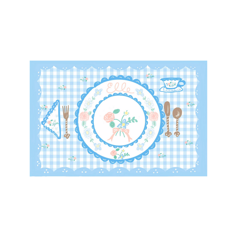 Pastel Gingham Placemat