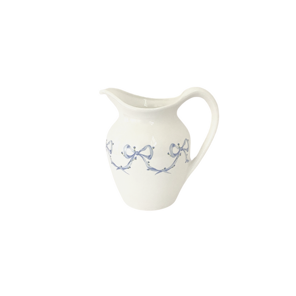 Porcelain Bow Pitcher