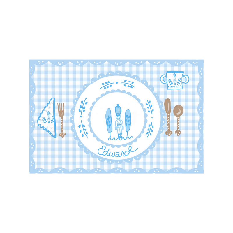 Soldier Gingham Placemat