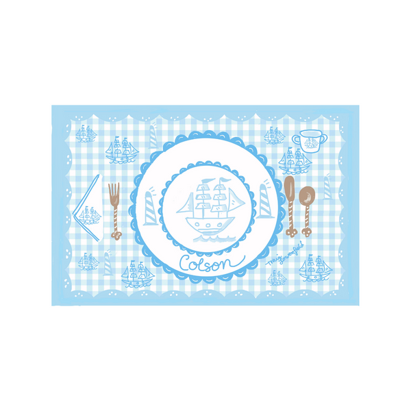 Ship Placemat
