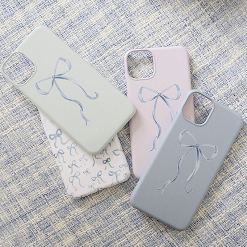 Bow Phone Case - Pink