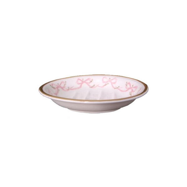 Porcelain Bow Soap Dish