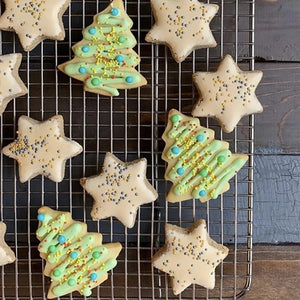 PV FARMS CREATION: OLIVE OIL SUGAR CHRISTMAS COOKIES!
