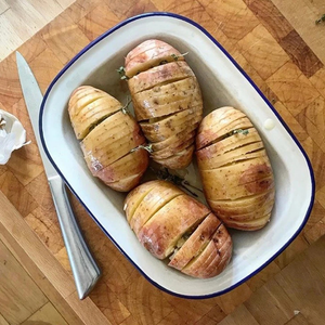Hasselback Potatoes Recipe!