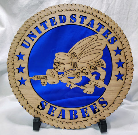 seabees 10 in blue acrylic 2