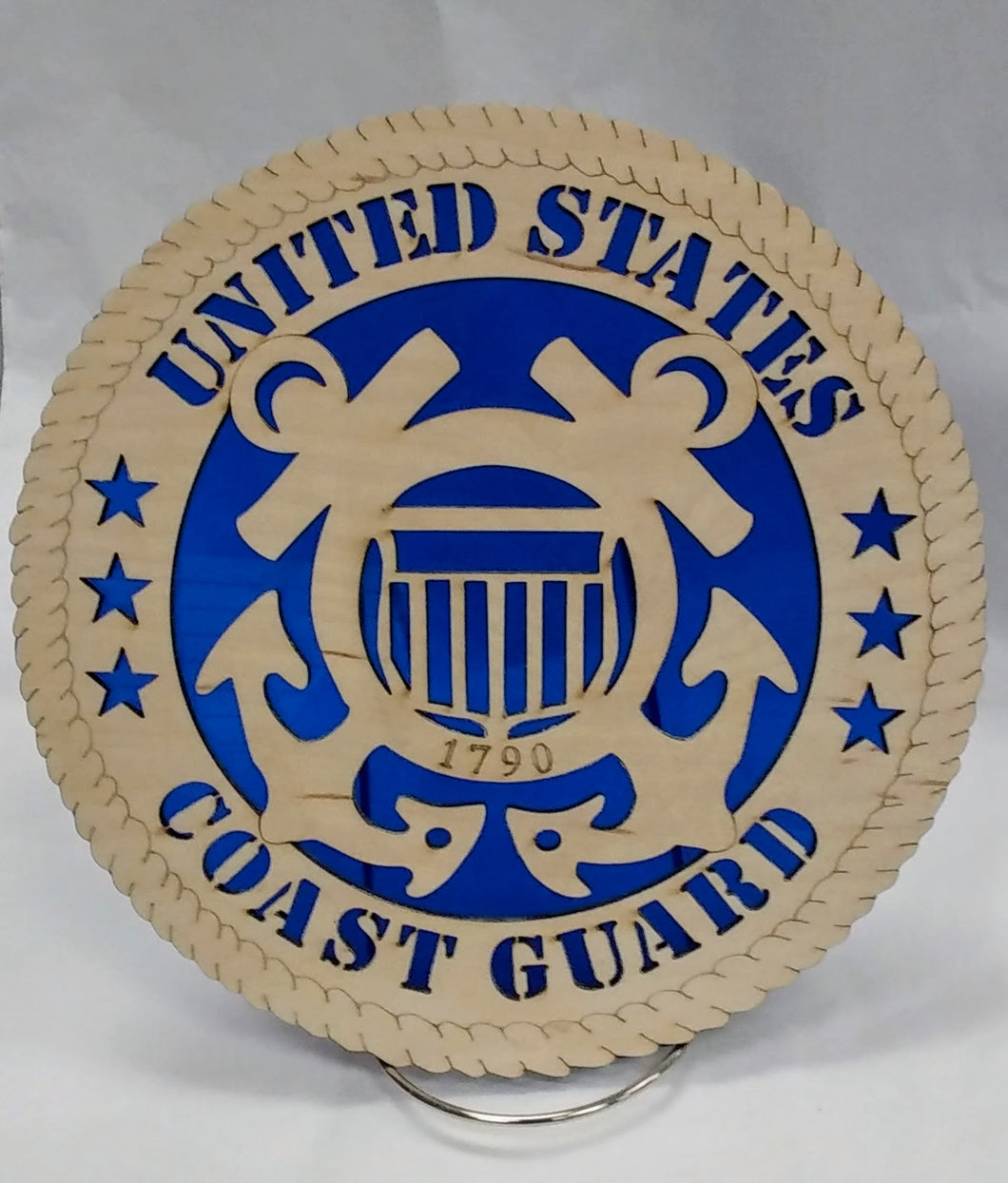 US Coast Guard Military Wall Plaque