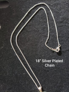 Silver or Beaded Chain