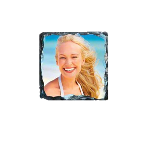 "Photo Slate Coaster - 3.5"" - Square"