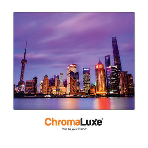 ChromaLuxe Sublimation Blank Exterior Aluminum Photo Panel - 8 x 10 - Gloss White