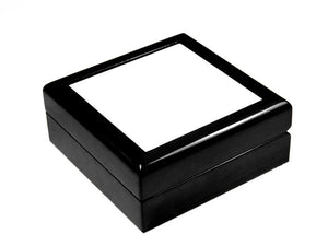 Keepsake Box with black lacquer finish