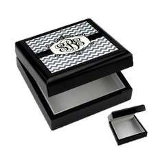 Load image into Gallery viewer, Keepsake Box with black lacquer finish