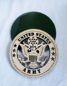 US Army Military Wall Plaque