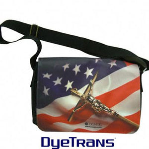 DyeTrans Sublimation Blank Large Shoulder Bag w/Flap