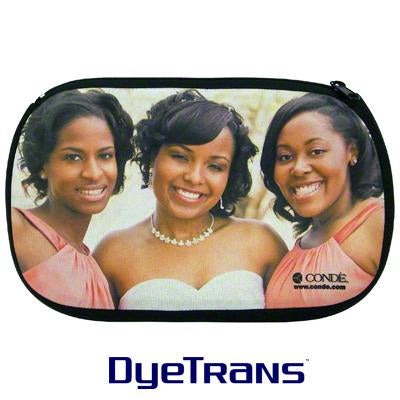 DyeTrans Sublimation Blank Neoprene Cosmetic Bag - 5.75