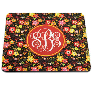 "DyeTrans Sublimation Blank Mousepad - 7.75"" x 9.25"" - Rectangle - 5.5mm - Black-Backed"