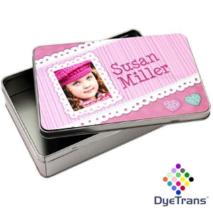 Rectangle 5x7.75 Dynasub Aluminum Tin