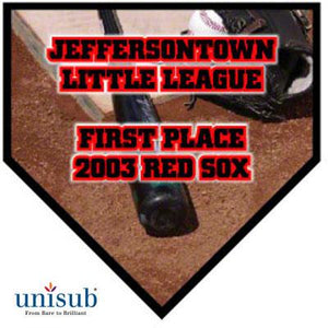 "Unisub Sublimation Blank MDF Plaque - 10"" x 10"" - Home Plate - Black Beveled Edge"