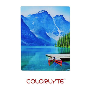 "ColorLyte Sublimation Blank Flat Photo Glass Panel - 5"" x 7"""
