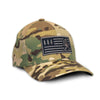 'Merica Camo Fitted Hat