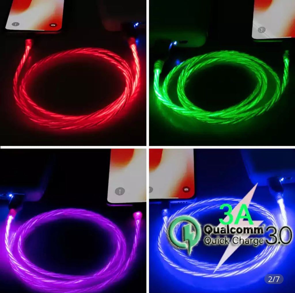 LED IPhone/Droid Chargers