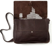 Laden Sie das Bild in den Galerie-Viewer, Tasche Big Business Dark Brown used look