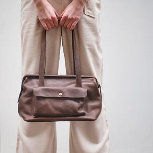 Tasche Room Service, Dark Brown  used look