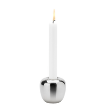 Laden Sie das Bild in den Galerie-Viewer, Ora candleholder Small Stainless Steel Small