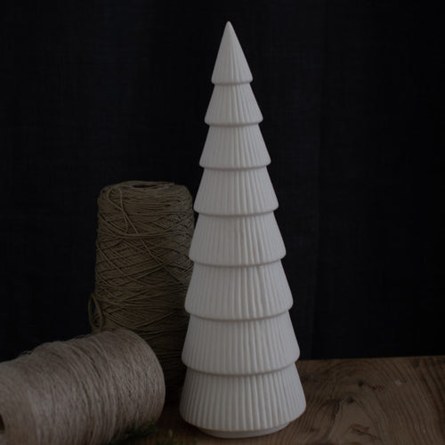 Gransund Large White Ceramic christmastree