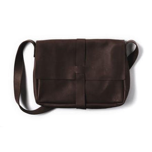 Tasche Big Business Dark Brown used look