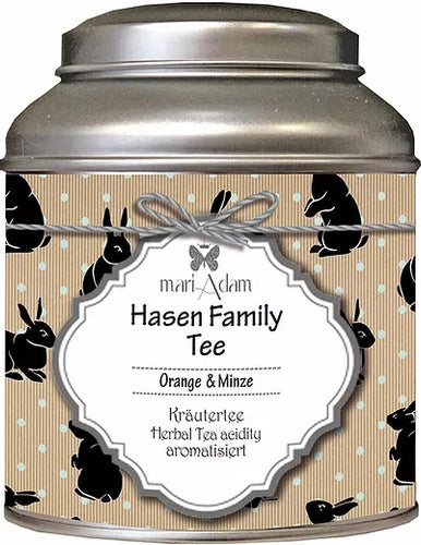 Hase Family Tee Orange und Minze Kräutertee