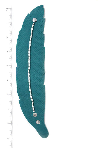 Multi Colored Pointed Oval Stretch Bracelet Various Colors Available - Teal Pineapple Boutique