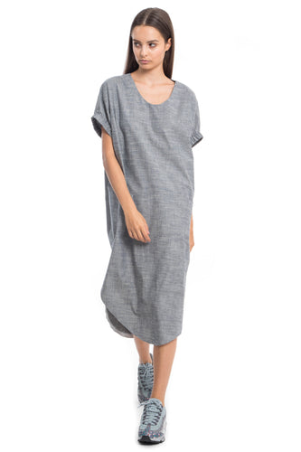 Lynn NINObrand blue chambray oversized dress