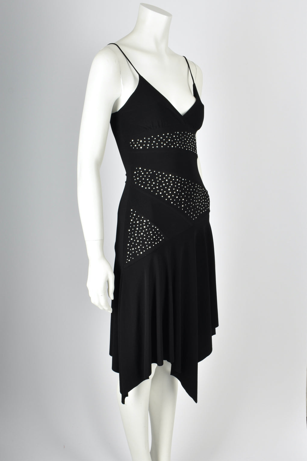 PRADA 1990s sparkly disco dress XS-S