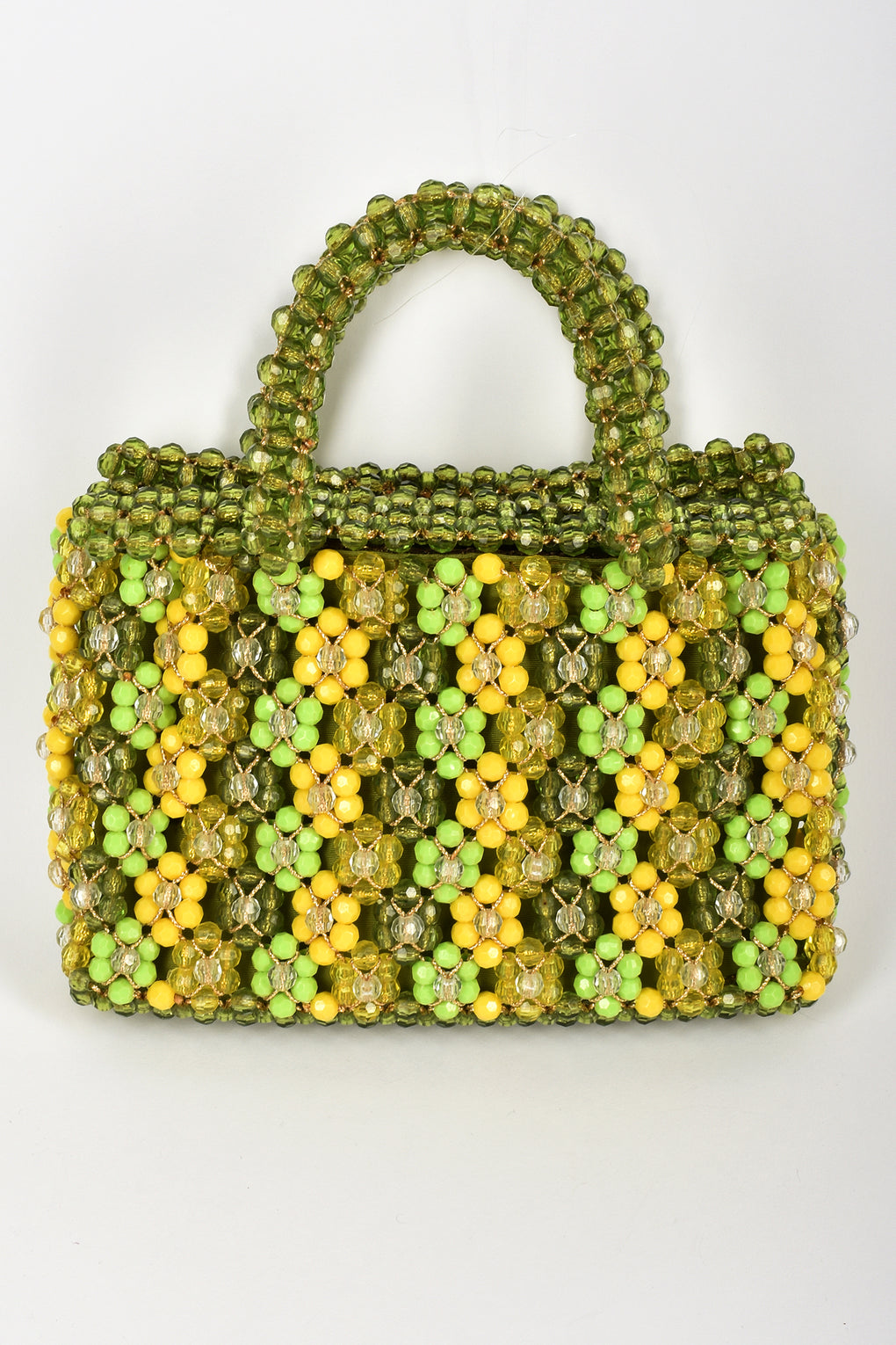 SAKS FIFTH AVENUE 60s beaded handbag