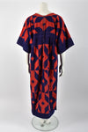 YVES SAINT LAURENT 70s towelling dress / M-L